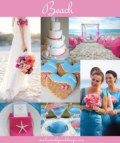 Beach Wedding   #exclusivelyweddings