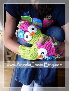 Owl gloves!