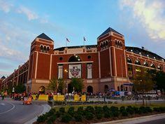 Ranger Stadium, Arlington, Texas
