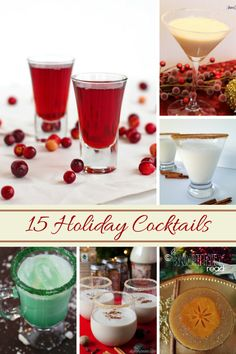 15 Holiday Cocktails