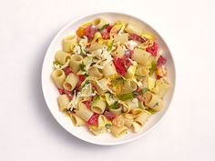Shaved Squash and Tomato Pasta Recipe : Food Network Kitchen : Food Network