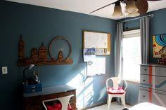 Rustic Modern Teen Boys Room decorating ideas