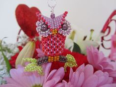 The Owl beading kit
