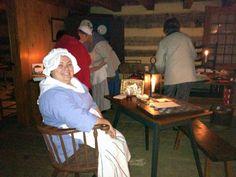 Candlelight Open House #HistoricHannasTown #Greensburg #PA   http://www.westmorelandhistory.org/hannastown/index.cfm