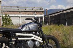 Custom 1986 Kawasaki Unitrax Scrambler