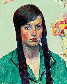 Cuno Amiet, Portrait of Frau Kottmann
