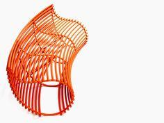 furnish, chair, outdoor furnitur, orang, kirv designmeubelen, fabric steel, funki furnitur, outdoor benches, furniture