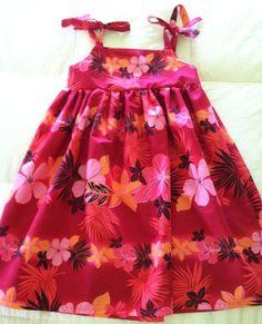 A cute little sun dress in a size 5/6.