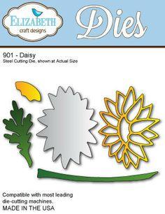 In stock 2/9/14 Elizabeth Craft Designs #901 Daisy Die