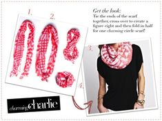Rock your favorite scarf with the help of our easy tutorials! Pin your favorite way to wear!