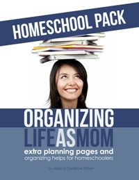 printables for homeschooling organization ($5)