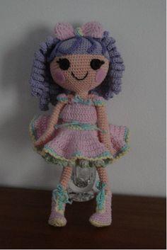 lalaOopsie doll free crochet pattern