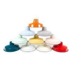 Enamel Lamp - from Cult Furniture UK