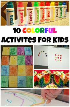 10 colorful activities for kids