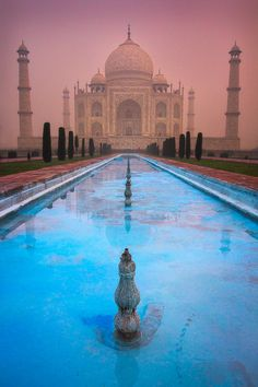 Taj Mahal, Agra, India  by Dylan Gehlken