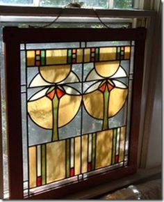 Leaded glass of unknown original