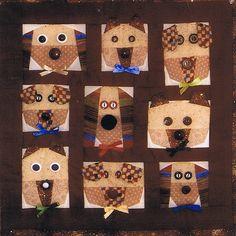 Dog Faces at ABC Patterns