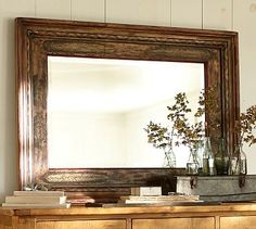 beautiful antique style mirror