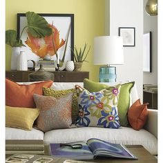 Orange Poppy Print in Prints | Crate and Barrel