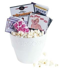 Gift Basket Idea: Movie night!!!