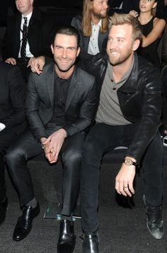 Adam Levine and Charles Kelley