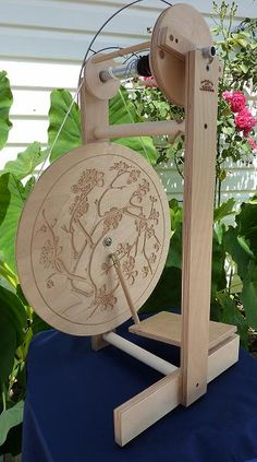 Spinning wheels from Heavenly Handspinning - practical, beautiful