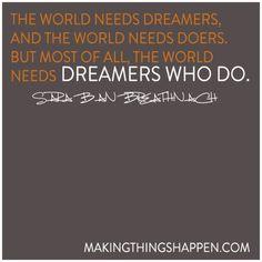 Lenovo- for those who DO! and we love dreamers who DO!