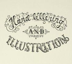 Hand Lettering & Illustration by Ludvig Nevland