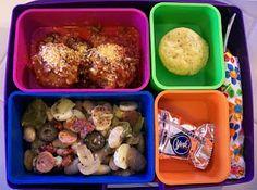 Shelly's Pizza Bean Salad Bento #Bento #BentoBox #Lunch