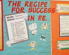 pe back to school bulletin board - Google Search