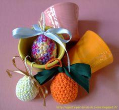 Il blog di Laura: Uova di Pasqua all'uncinetto