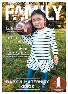 Washington FAMILY's November cover!