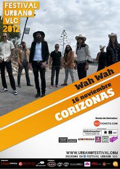 Concierto de Corizonas en Valencia