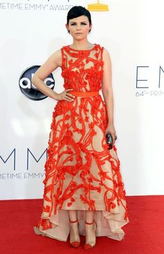 Ginnifer Goodwin at the 2012 Emmy Awards