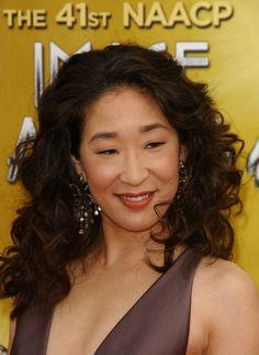 Sandra Ohs elegant, updo hairstyle