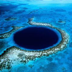 Big blue hole, #Bahamas