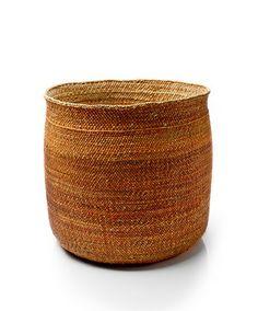 Iringa Basket in Rust - Bamboula - Designers