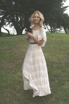 Hippie cute dress.