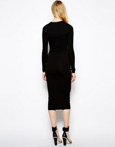 TTYA Long Sleeve Midi Dress