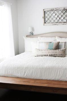 White Bedroom via Design*Sponge