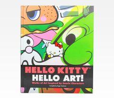 Hello Kitty Book: Hello Art!