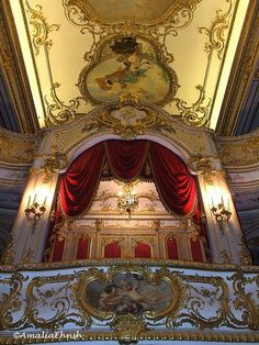 Private Theatre, Yusupov's Palace, St.-Petersburg