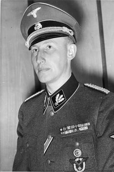 Reinhard Heydrich: As a senior SS commander, he chaired the notorious Wannsee Conference where the plans for the Final Solution were drawn up