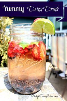 Yummy Detox Drink Recipe