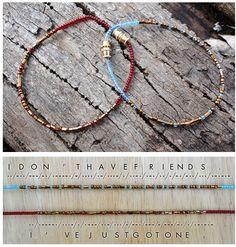 DIY | Morse Code Bracelets!