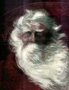 Father Christmas as King Lear ;O]