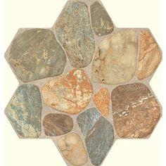 FLOORS 2000�5-Pack Teras Multi Glazed Porcelain Indoor/Outdoor Floor Tiles (Common: 18-in x 18-in; Actual: 17.75-in x 17.75-in)