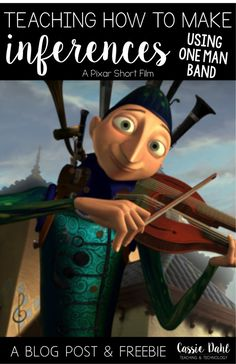 Using movie shorts in the classroom can be very engaging. Guide your students???