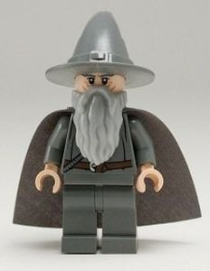 Gandalf The Grey LEGO Lord of the Rings Minifigure