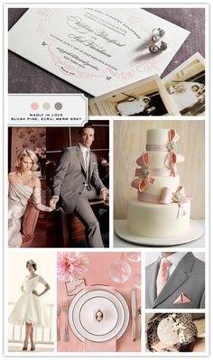 mad men theme wedding